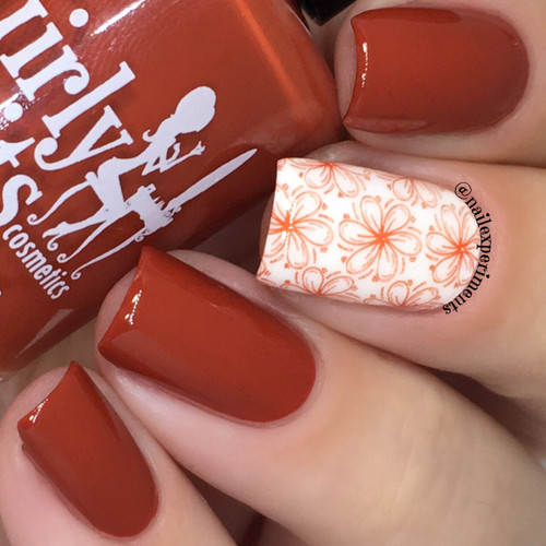 GIRLY BITS COSMETICS Another Brick in the Fall (Fall 2017 Collection) | Photo courtesy Nail Experiments