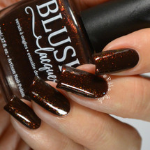 AVAILABLE AT GIRLY BITS COSMETICS www.girlybitscosmetics.com Spiced Cocoa (BLUSH Beauties Fall Collaboration Collection) by Blush Lacquers | Photo credit: @rikki_nails_