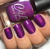 AVAILABLE AT GIRLY BITS COSMETICS www.girlybitscosmetics.com Plum Ready for Summer (Winter 2017 Collection) by Colors by Llarowe | Swatch courtesy of IG @mynailpolishobsession