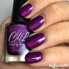 AVAILABLE AT GIRLY BITS COSMETICS www.girlybitscosmetics.com Plum Ready for Summer (Winter 2017 Collection) by Colors by Llarowe | Swatch courtesy of IG @buffnails80