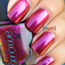 AVAILABLE AT GIRLY BITS COSMETICS www.girlybitscosmetics.com Show Me the Love! (The Multi Chromes Collection) by Colors by Llarowe | Swatch courtesy of My Nail Polish Obsession