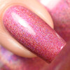 GIRLY BITS COSMETICS Cran-bury the Hatchet (Nov 2017 CoTM) | Swatch courtesy of Delishious Nails