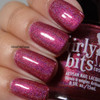 GIRLY BITS COSMETICS Cran-bury the Hatchet (Nov 2017 CoTM) | Swatch courtesy of Intense Polish Therapy