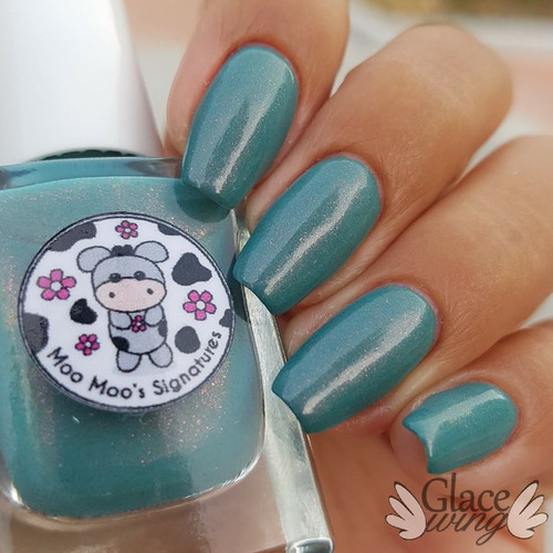 AVAILABLE AT GIRLY BITS COSMETICS www.girlybitscosmetics.com Peekamoo! I Cu (LE) (Facebook Group Customs Collection) by Moo Moo's Signatures | Swatch courtesy of IG@glacewing