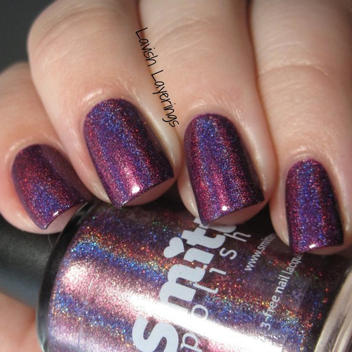 AVAILABLE AT GIRLY BITS COSMETICS www.girlybitscosmetics.com Something Wicked This Way Plums (Autumn 2015 Collection) by Dreamland Lacquer | Photo credit: Lavish Layerings