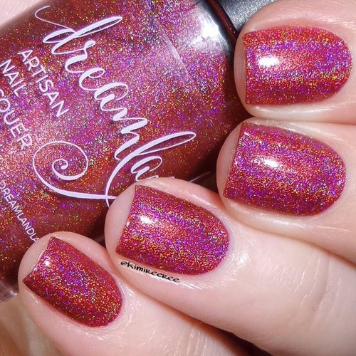 AVAILABLE AT GIRLY BITS COSMETICS www.girlybitscosmetics.com Red Jamie (Outlander 2016 Collection) by Dreamland Lacquer | Photo credit: @Kimireeree