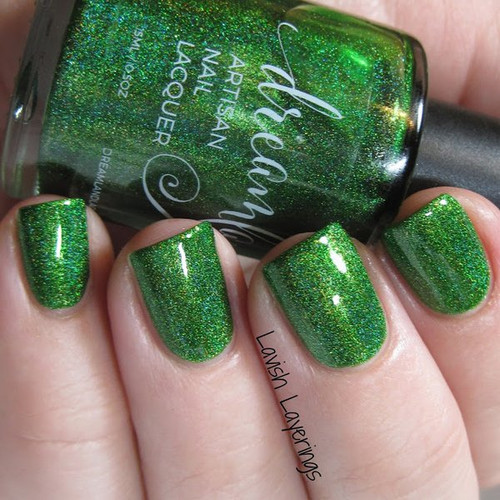 AVAILABLE AT GIRLY BITS COSMETICS www.girlybitscosmetics.com He's an Angry Elf (Christmas 2016 Collection) by Dreamland Lacquer | Photo credit: Lavish Layerings