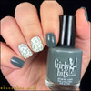 GIRLY BITS COSMETICS Greyzed and Confused (Fall 2017 Collection) | Swatch courtesy of IG@honeybee_nails