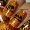 AVAILABLE AT GIRLY BITS COSMETICS www.girlybitscosmetics.com Trick or Treat (Halloween 2017 Collection) by Dreamland Lacquer | Photo credit: Intense Polish Therapy
