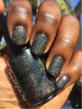 COMING SOON TO GIRLY BITS COSMETICS www.girlybitscosmetics.com Smell My Feet (Halloween 2017 Collection) by Dreamland Lacquer | Photo credit: @Tanyatopia_too