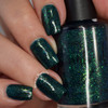 AVAILABLE AT GIRLY BITS COSMETICS www.girlybitscosmetics.com On Pines and Needles (Girly Bits Shop Exclusives Collection) by Dreamland Lacquer | Photo credit: Manicure Manifesto