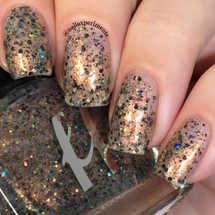 AVAILABLE AT GIRLY BITS COSMETICS www.girlybitscosmetics.com Room 237 - Girly Bits Shop Exclusive by Femme Fatale | Swatch courtesy of Nail Experiments