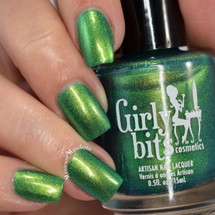 Girly Bits Cosmetics Talk Turkey to Me | Swatch courtesy of Manicure Manifesto