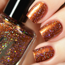 AVAILABLE AT GIRLY BITS COSMETICS www.girlybitscosmetics.com Jareth (Labyrinth Collection) by Femme Fatale | Swatch courtesy of Tanya_Wish