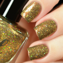 AVAILABLE AT GIRLY BITS COSMETICS www.girlybitscosmetics.com Through Dangers Untold (Labyrinth Collection) by Femme Fatale | Swatch courtesy of Tanya_Wish