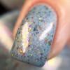 GIRLY BITS COSMETICS Winter Whispers  (Fantasmic Flakies ) | Swatch courtesy of Nail Experiments