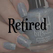 GIRLY BITS COSMETICS Winter Whispers  (Fantasmic Flakies ) | Swatch courtesy of Manicure Manifesto