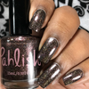 AVAILABLE AT GIRLY BITS COSMETICS www.girlybitscosmetics.com Leda (Orphan Black Duo) by Pahlish | Swatch  provided by @queenofnails83