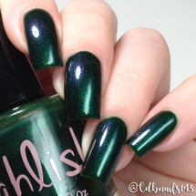 AVAILABLE AT GIRLY BITS COSMETICS www.girlybitscosmetics.com Eleven Pipers Piping (12 Days of Christmas Collection) by Pahlish | Swatch  provided by @cdbnails143