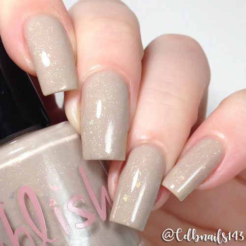 AVAILABLE AT GIRLY BITS COSMETICS www.girlybitscosmetics.com Partridge in a Pear Tree (12 Days of Christmas Collection) by Pahlish | Swatch  provided by @cdbnails143