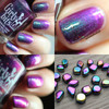 GIRLY BITS COSMETICS Law of Attraction (Polish Pickup January 2018)  | Swatches courtesy of Streets Ahead Style