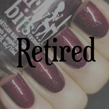Girly Bits Cosmetics Dark Reflection (February 2018 CoTM) | Swatch courtesy of IG@lacquerloon