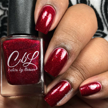 AVAILABLE AT GIRLY BITS COSMETICS www.girlybitscosmetics.com CbL PoTM - Feb 2018 - What's Love Got to Do With It by Colors by Llarowe | Swatch courtesy of @queenofnails83