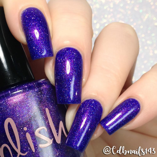 AVAILABLE AT GIRLY BITS COSMETICS www.girlybitscosmetics.com The Fool (The Arcana Collection) by Pahlish   Swatch  provided by @cdbnails143
