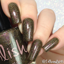 AVAILABLE AT GIRLY BITS COSMETICS www.girlybitscosmetics.com Queen of Pentacles (The Arcana Collection) by Pahlish | Swatch  provided by @cdbnails143