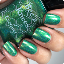 AVAILABLE AT GIRLY BITS COSMETICS www.girlybitscosmetics.com Don't Make the Suit Animated (Justice League Collection) by Bee's Knees Lacquer | Photo credit: @nailmedaily