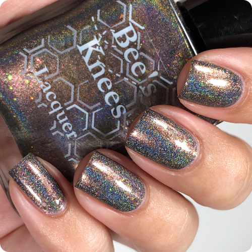 AVAILABLE AT GIRLY BITS COSMETICS www.girlybitscosmetics.com Booyah! (Justice League Collection) by Bee's Knees Lacquer | Photo credit: @nailmedaily