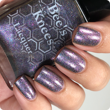 AVAILABLE AT GIRLY BITS COSMETICS www.girlybitscosmetics.com The Bat (Justice League Collection) by Bee's Knees Lacquer | Photo credit: @nailmedaily