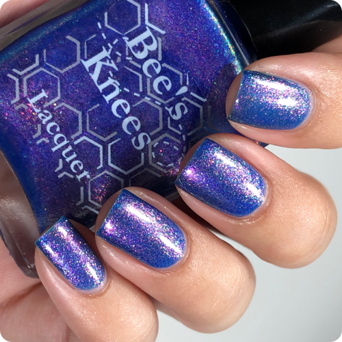 AVAILABLE AT GIRLY BITS COSMETICS www.girlybitscosmetics.com I Am No Man (Justice League Collection) by Bee's Knees Lacquer   Photo credit: @nailmedaily