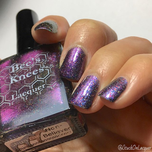 AVAILABLE AT GIRLY BITS COSMETICS www.girlybitscosmetics.com Shun the Non Believer (Limited Edition Collection) by Bee's Knees Lacquer | Photo credit: @stuckonlacquer