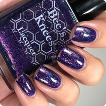 AVAILABLE AT GIRLY BITS COSMETICS www.girlybitscosmetics.com January COTM - We Will Never Bee Royals (Monthly Colours Collection) by Bee's Knees Lacquer | Photo credit: @nailmedaily