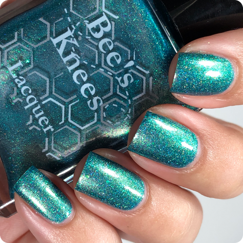 AVAILABLE AT GIRLY BITS COSMETICS www.girlybitscosmetics.com Salty Anon (Prototypes Collection) by Bee's Knees Lacquer | Photo credit: @nailmedaily