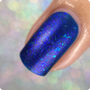 AVAILABLE AT GIRLY BITS COSMETICS www.girlybitscosmetics.com The Upside Down (Stranger Things Collection) by Bee's Knees Lacquer | Photo credit: @nailmedaily