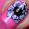 Botanicals 01 Mini Plate - Dixie Plates | AVAILABLE AT GIRLY BITS COSMETICS www.girlybitscosmetics.com | photos courtesy of Bruised Up Dollie