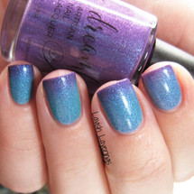 French of the Bird (Woleebaph Ronder Wily Collection) by Dreamland Lacquer AVAILABLE AT GIRLY BITS COSMETICS www.girlybitscosmetics.com | Photo credit: Lavish Layerings