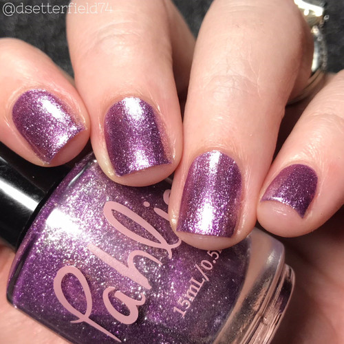 AVAILABLE AT GIRLY BITS COSMETICS www.girlybitscosmetics.com French Lavender (Spring 2018 Collection) by Pahlish | Swatch  provided by Snacks on Rotation