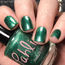 AVAILABLE AT GIRLY BITS COSMETICS www.girlybitscosmetics.com Hemlock (Spring 2018 Collection) by Pahlish | Swatch  provided by Snacks on Rotation