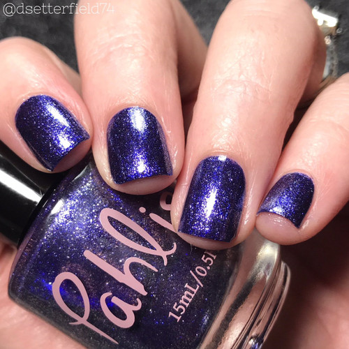 AVAILABLE AT GIRLY BITS COSMETICS www.girlybitscosmetics.com Bluebonnet (Spring 2018 Collection) by Pahlish | Swatch  provided by Snacks on Rotation