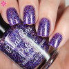 The Purple Wedding (Westerosi Collection) by STELLA CHROMA available at Girly Bits Cosmetics www.girlybitscosmetics.com  | Photo courtesy of Cosmetic Sanctuary