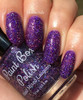 The Purple Wedding (Westerosi Collection) by STELLA CHROMA available at Girly Bits Cosmetics www.girlybitscosmetics.com  | Photo courtesy of EhmKay Nails