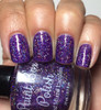The Purple Wedding (Westerosi Collection) by STELLA CHROMA available at Girly Bits Cosmetics www.girlybitscosmetics.com  | Photo courtesy of My Nail Polish Obsession