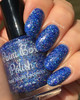 Wight Eyed Walkers (Westerosi Collection) by STELLA CHROMA available at Girly Bits Cosmetics www.girlybitscosmetics.com  | Photo courtesy of EhmKay Nails
