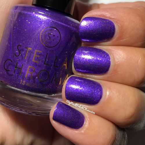 Hustle (Premier Collection) by STELLA CHROMA available at Girly Bits Cosmetics www.girlybitscosmetics.com  | Photo courtesy of My Nail Polish Obsession