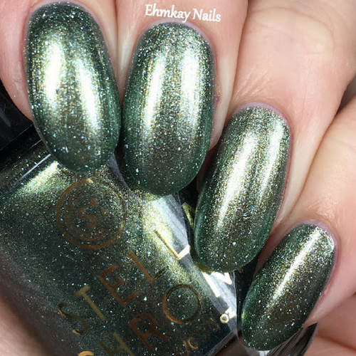 Winter's Frost (Winter Trio Collection) by STELLA CHROMA available at Girly Bits Cosmetics www.girlybitscosmetics.com  | Photo courtesy of EhmKay Nails