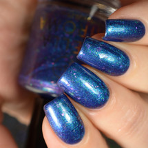 Pilot of the Storm - Girly Bits Shop Exclusive by STELLA CHROMA available at Girly Bits Cosmetics www.girlybitscosmetics.com  | Photo courtesy of Delishious Nails