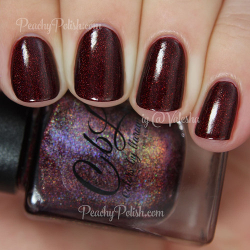 AVAILABLE AT GIRLY BITS COSMETICS www.girlybitscosmetics.com Love, Actually (Valentines Trio 2015) by Colors by Llarowe   Swatch courtesy of Peachy Polish